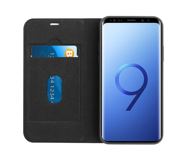 TECHXS 2IN1 MAGNETIC CASE for Galaxy S9#Colour_Black