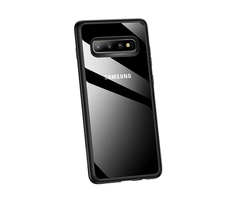 USAMS KINGDOM SERIES DOUBLE PROTECTION TRANSPARENT TPU for Galaxy S10+