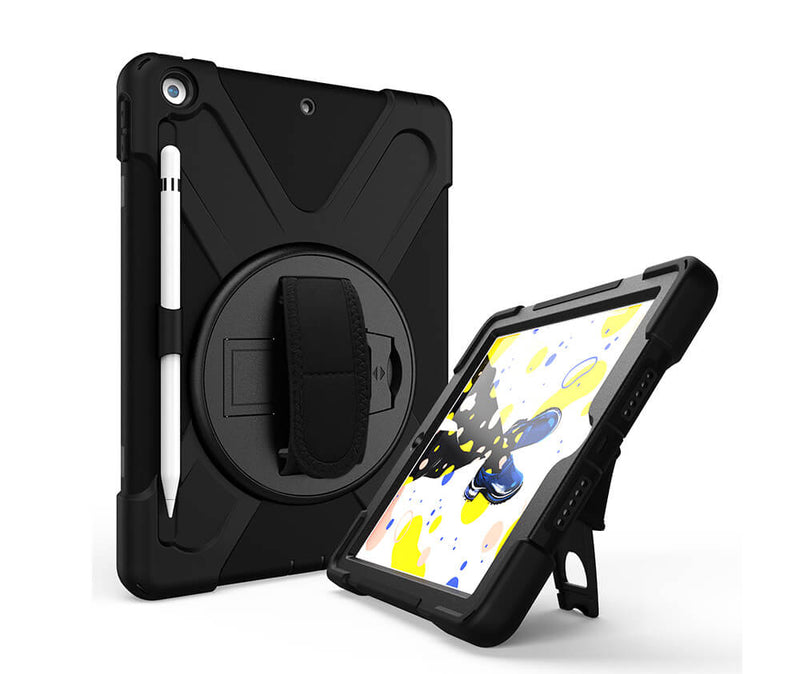 IPAD 10.2 (2019) PIRATE TRADIE CASE - BLACK
