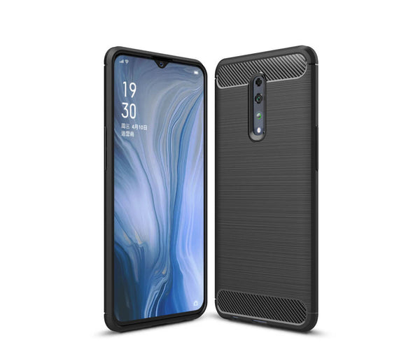 SLIMLINE, FLEXIBLE & DURABLE TPU CASE for Oppo R17 PRO#Colour_Black