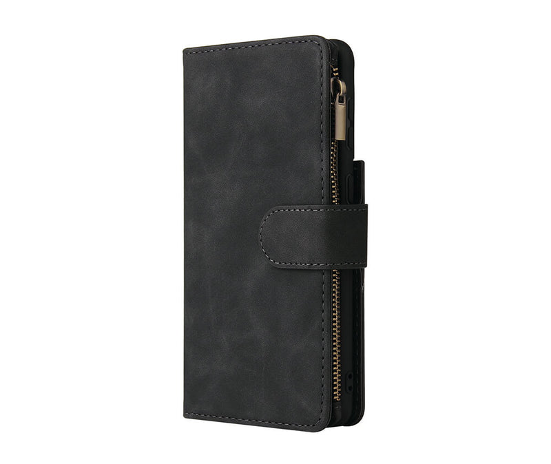 Slim & Protective Multi-Card Leather Wallet Case