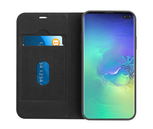 TECHXS 2IN1 MAGNETIC CASE for Galaxy S10 Plus#Colour_Black