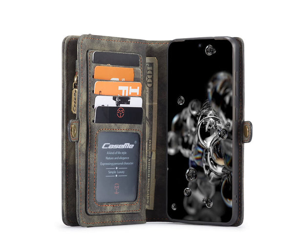 2IN1 DETACHABLE SUEDE WALLET for Galaxy S20#Colour_Black
