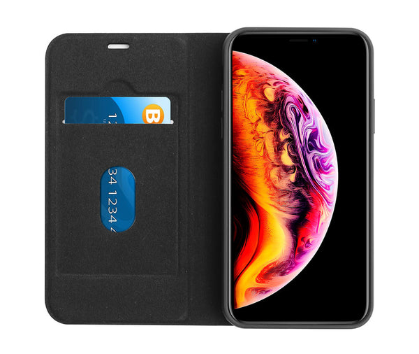 TECHXS 2IN1 MAGNETIC CASE for iPhone X & XS#Colour_Black