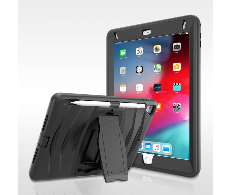 HEAVY DUTY RUGGED PROTECTION CASE W/ SCREEN GUARD for iPad Mini 4 & 5