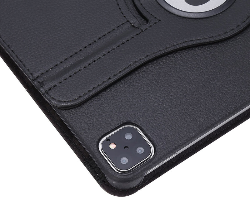 Litchi Leather 360 Rotational Case