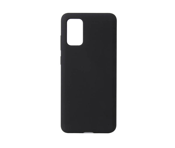 LIQUID SILICON CASE for Galaxy S20#Colour_Black