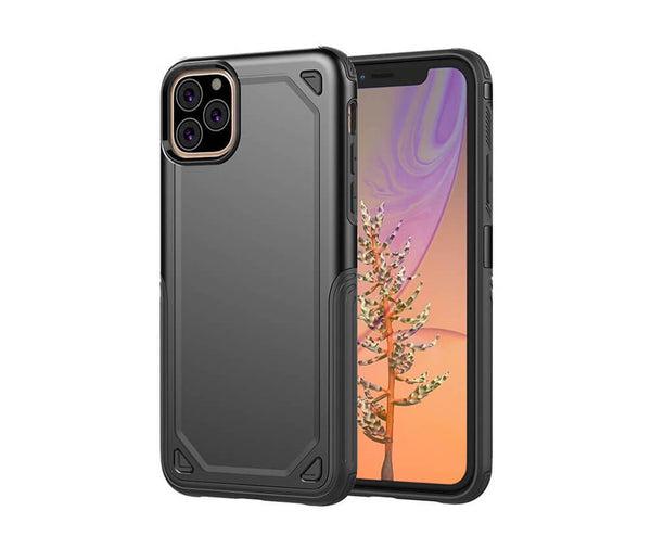 Hybrid Armour Defence Case for iPhone 11 Pro Max#Colour_Black