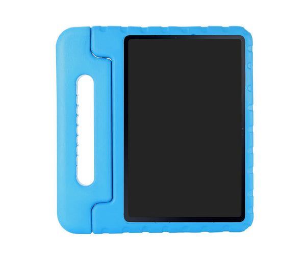 KIDS HEAVY DUTY RUGGED PROTECTION CASE W/ HANDLE for Galaxy Tab S7+#Colour_Blue