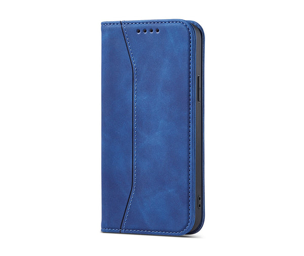 Slim & Protective Leather Wallet Case with 2 Card Slots#Colour_Blue