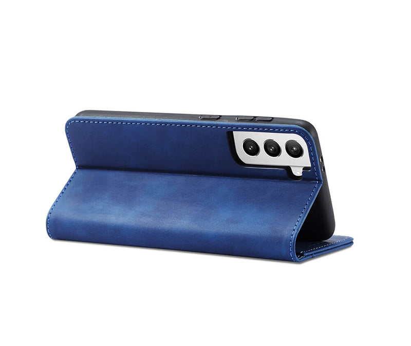 Slim & Protective Leather Wallet Case with 2 Card Slots