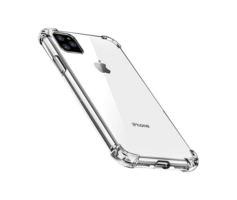 SLIM & PROTECTIVE TRANSPARENT TPU W/ RAISED EDGES for iPhone 11 Pro_1