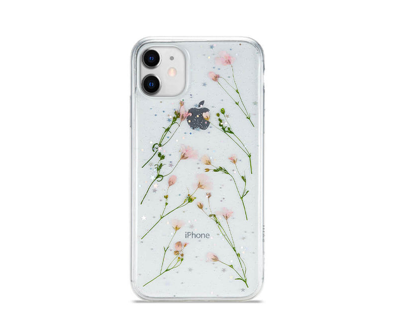 Dried Daisy Flower Transparent Case for iPhone 11_1