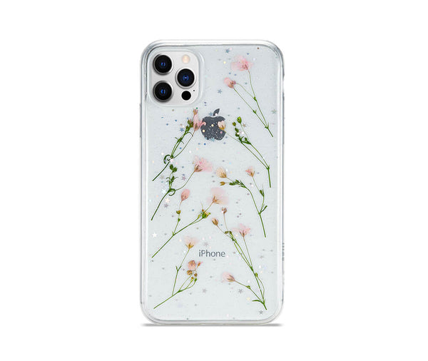 Dried Daisy Flower Transparent Case for iPhone 12 Mini_1