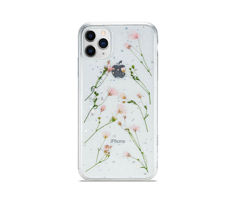 Dried Daisy Flower Transparent Case for iPhone 11 Pro Max_1