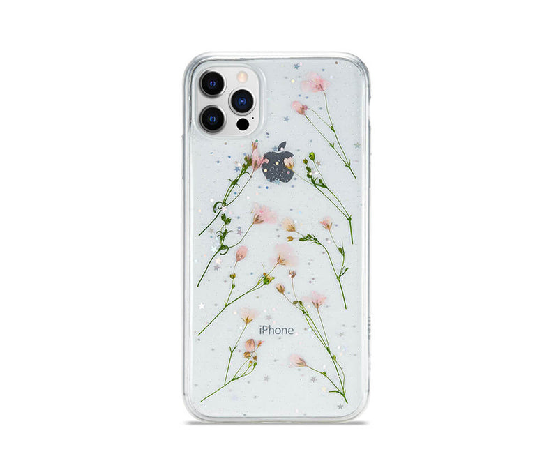 Dried Daisy Flower Transparent Case for iPhone 12 Pro Max_1