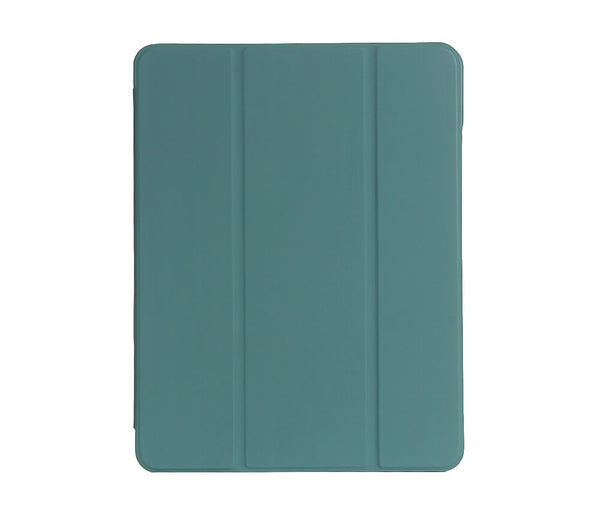 Smart Cover With Pen Holder for iPad Air 4#Colour_Teal
