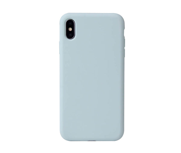 LIQUID SILICON CASE for iPhone X & XS#Colour_Green