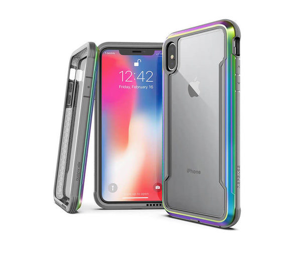 X-DORIA DEFENSE SHIELD for iPhone X & XS#Colour_Iridescent