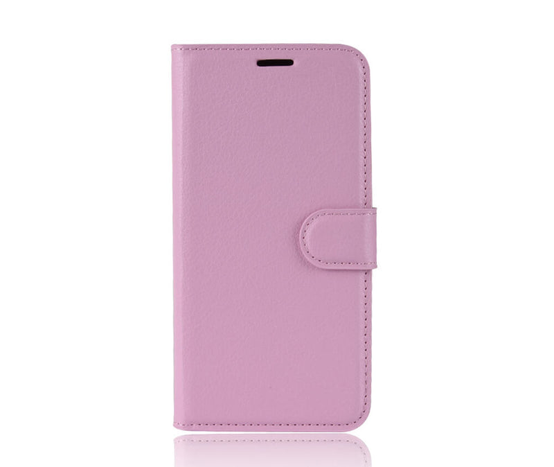 LITCHI LEATHER WALLET CASE for Galaxy A11