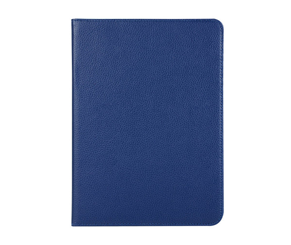 LITCHI LEATHER 360 ROTATIONAL CASE for iPad Pro 11 2018#Colour_Navy Blue