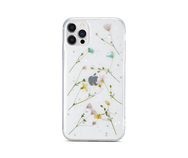Dried Petal Flower Transparent Case for iPhone 11 Pro Max_1