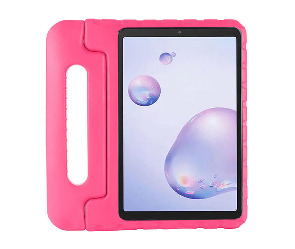 Kids Heavy Duty Tough Protection Case with Handle#Colour_Pink