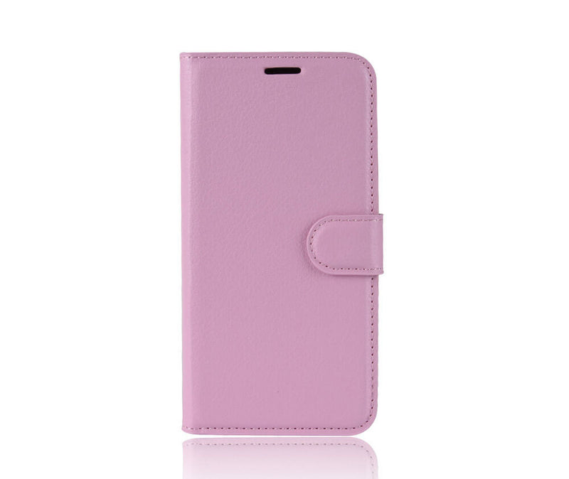 LITCHI LEATHER WALLET CASE for Pixel 4 XL