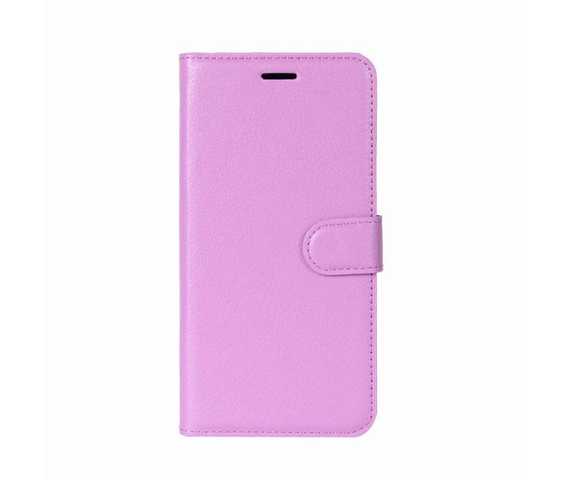 LITCHI LEATHER WALLET CASE for Oppo A73