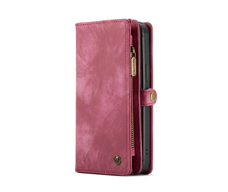 2-in-1 Detachable Suede Leather Wallet for iPhone 12 Pro Max