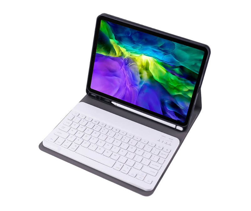 Protective Folio Bluetooth Case with Keyboard