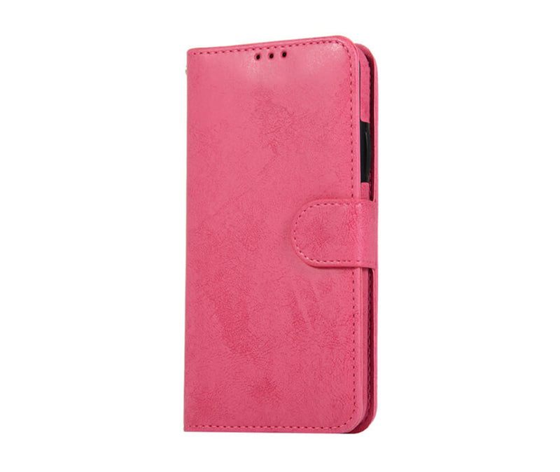 Protective 2in1 Magnetic Detachable 3 Card Wallet Case