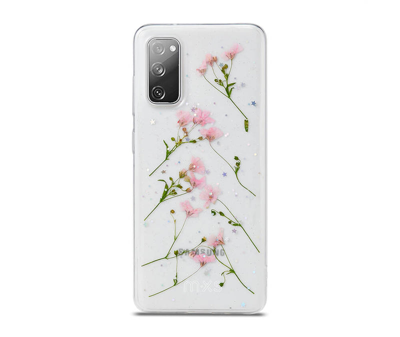 Dried Daisy Flower Clear Back Protective TPU Case_1