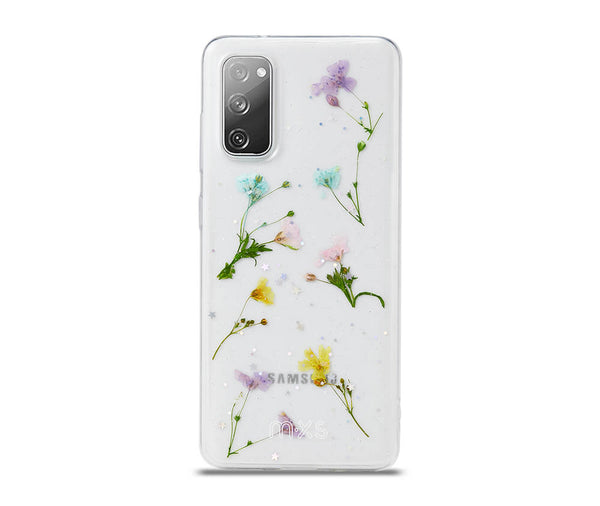 Dried Petal Flower Clear Back Protective TPU Case_1
