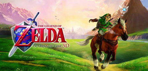 The Legend of Zelda: Ocarina of Time 3D - infinite-gaming-shoes
