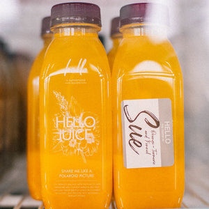 """SUE"" COLD-PRESSED JUICE - WEEKLY SUBSCRIPTION"