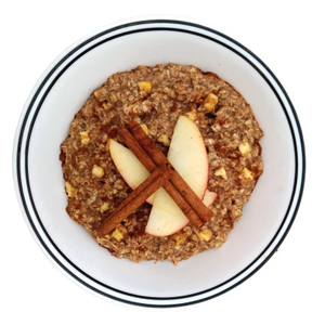 APPLE CINNAMON OATMEAL - WEEKLY SUBSCRIPTION