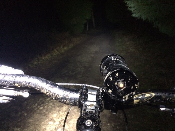 mtb empty night trails
