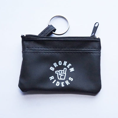 broken riders rider pouch for keys and essential items