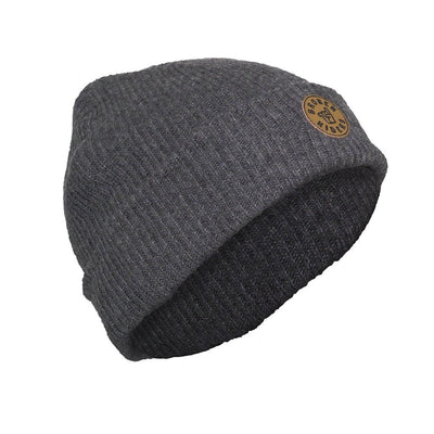 Broken Riders dark grey logo patch beanie