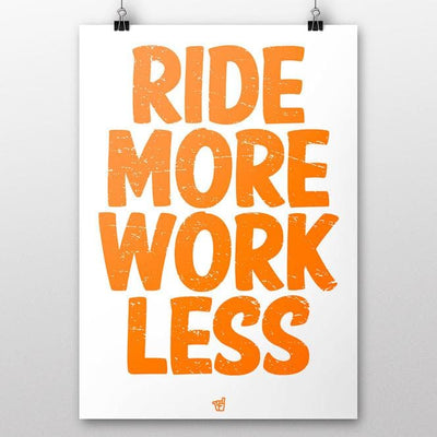 Broken Riders Ride More Work Less poster