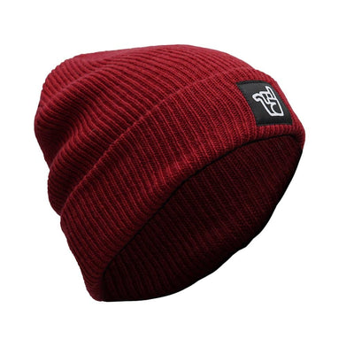 broken riders ruby red merino beanie