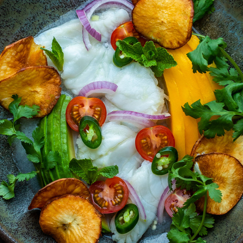 Recipe: Coconut Citrus Halibut Ceviche