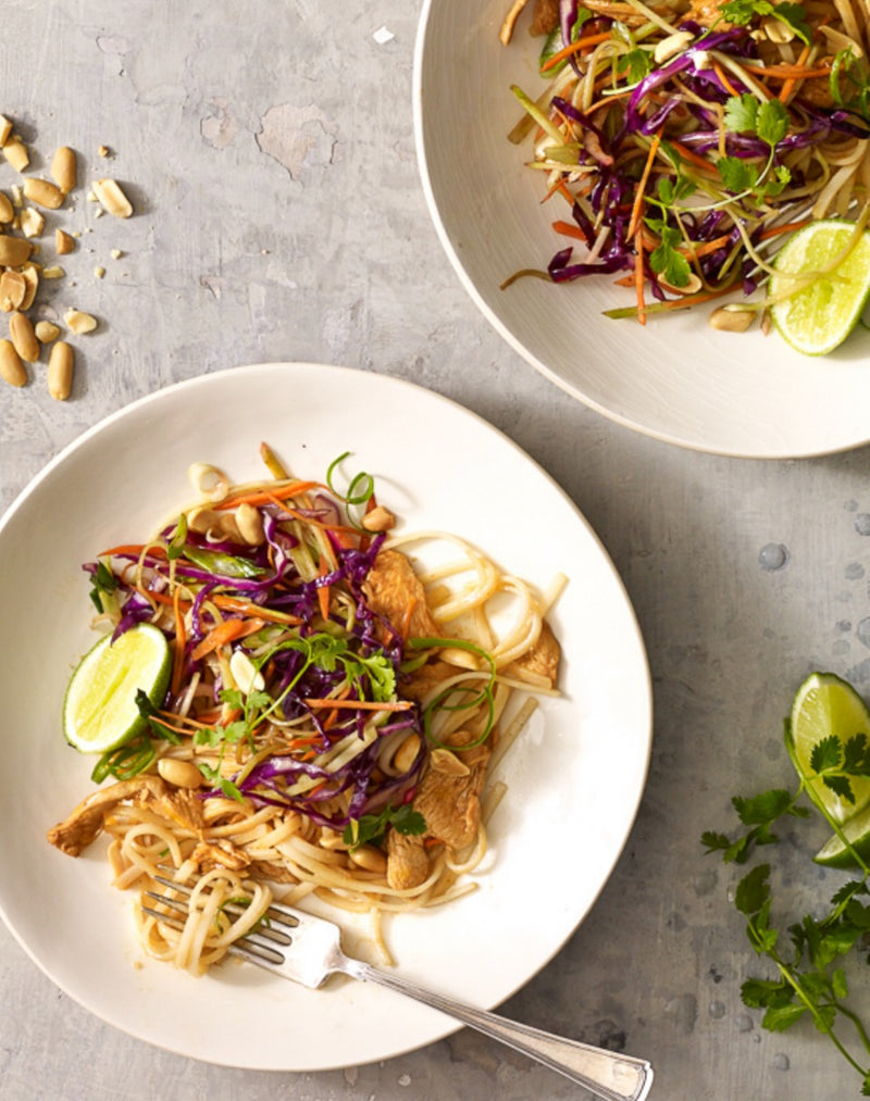 Recipe: Asian Peanut Noodles With chicken