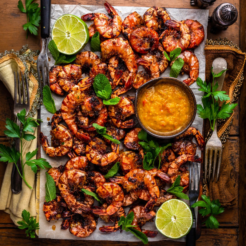 Recipe: Traeger Jerk Shrimp