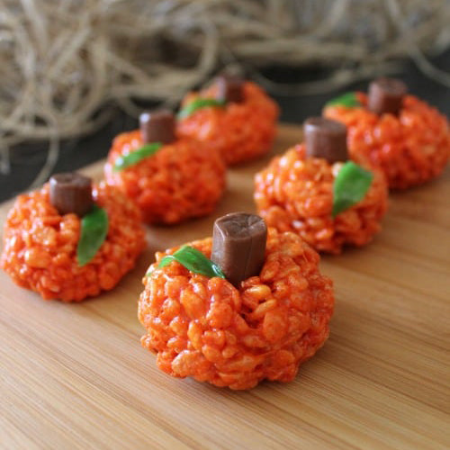 Recipe: Pumpkin Rice Krispie