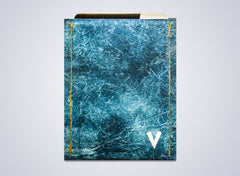 Vinco Wallet Blue