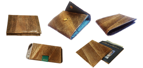 Salmon Leather Wallet Designs