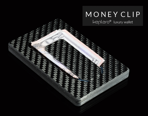 Keplero Wallet money clip