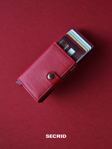 SECRID Miniwallet Rango Red
